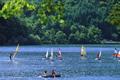 黒北アルプス山麓に広がる唯一の天然湖・仁科三湖。静寂な湖畔は四季折々、風情豊かな美しい姿を見せてくれます。特に夏はカヌーやボートセーリングなどウォータースポーツに最適の季節。湖畔の景色や散策も楽しめます。